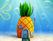 3D - House of SpongeBob SquarePants