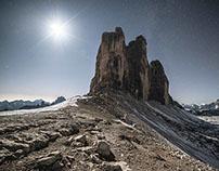 Dolomiti's nightscapes
