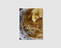 Celebrate Fall // Recipe Book & Food Photography