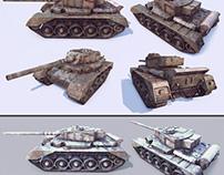 Simple tank model test