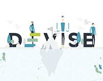 Branding and Data visualization — Devise Analytics