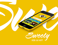 Sweety iOS UI Kit - Free Download