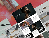 Product Landing Page from Rubino