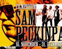 Sam Peckinpah Retrospective Film Poster - Filmpodium