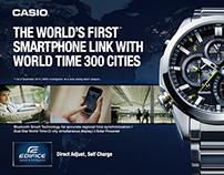 Casio, Edifice & Oceanus