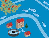 Informationsgrafik | Hochwasser-/Gewässerschutz | TMUEN