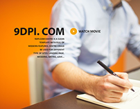 9dpi.com - Free slideshow .PSD source files