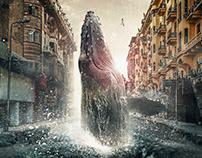 Whale - Photoshop Creative Magazine