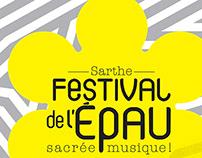 Identité visuelle // Festival de l'Épau