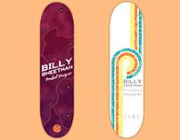 Skate Deck Name Plates