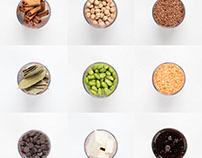 Livre: Lunchs Réinventés Ingrédients/ingredients