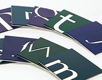 Alphabetic Coasters
