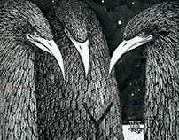 "Book illustration: ""The Love for Three Zuckerbrins"""