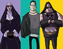 advertising campaign characters concepts