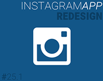Instagram Material Redesign (Part 1)