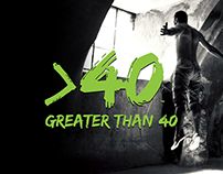 Greater Than 40 - Fitness Brand