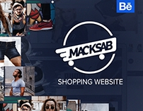 Macksab UI/UX Website and identity
