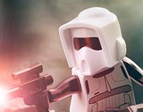 Lego Speederbike CGI