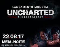 Lançamento Mundial de Uncharted: TLL