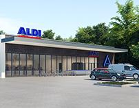 ALDI Rodenbergcenter / Dortmund Architect Martin Kaiser