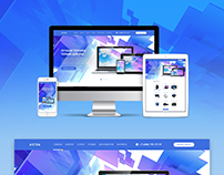 Web-site for ASTRA shop