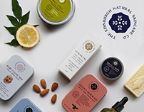 The Edinburgh Natural Skincare Company BRAND IDENTITY