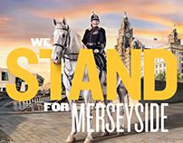 Merseyside Mounted Police campaign