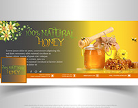 Facebook Cover Design Banner (NATURAL HONEY)