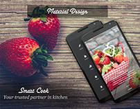 Material Design: Cooking App