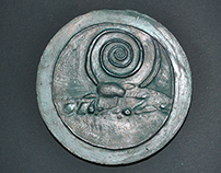 Small sculpture formats. Medal