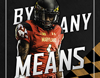 Stefon Diggs Maryland Poster