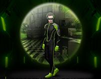 Aparelho de realidade virtual Nvidia