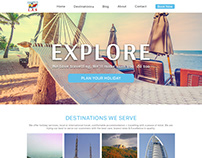 Web development for Travel company