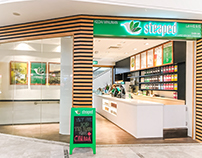 Steaped Tea and beverage retail store design