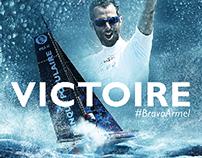 Voile Banque Populaire - Victoire