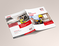 Betac Maintenance Division- brochure design
