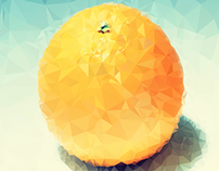 Low Poly Fruits