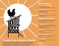 Seattle City Chickens Poster & Mailer