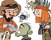 La Tribu ediciones, web characters 2013