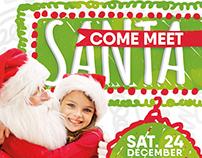 Meet Santa Flyer & Facebook Cover
