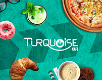 TURQUOISE cafe - Brand Elements Presentation