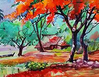 MY Watercolor Developments - 2015
