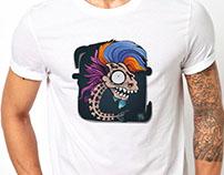 totemic fish - tshirt project
