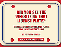Websites on License Plates: A Review