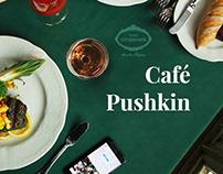 Café Pushkin - Russian restaurant redesign