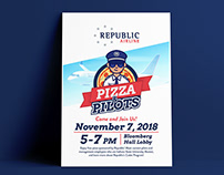 Pizza & Pilots Flyer