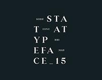 S T A A T – Typeface
