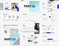 Concise Product Introduction PowerPoint template