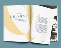 Bodoni Type Study