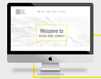 Website design for Design | Make | Connect